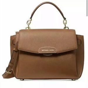 Michael Kors Rochelle top handle satchel luggage